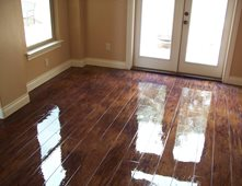 Superb Faux Wood Floor Custom Concrete Solutions Schertz, TX