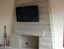 Fireplace Surrounds Pictures - Gallery - The Concrete Network