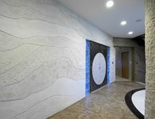 Superieur Rock Layers, Grey Interior Walls Everlast Concrete, Inc Steger, IL