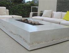 Lovely Outdoor Fire Pits Ernsdorf Design, Inc Los Angeles, CA