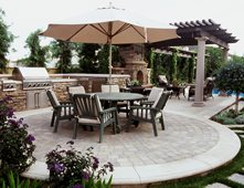 outdoor kitchens pictures - gallery - the concrete network