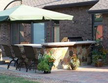 Outdoor Kitchens Pictures Gallery The Concrete Network