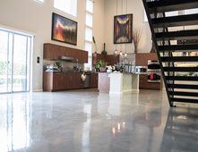 loft floors polished floors polished concrete sleek floors inc henderson nv