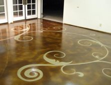 Stained Concrete Pictures Gallery The Concrete Network