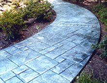 Stone Winding Stamped Concrete Amcon Llc Gaithersburg Md