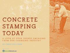 Concrete Stamping Today Site ConcreteNetwork.com ,