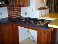 Counter Stove Top Site Solid Solutions Studios Fresno, CA