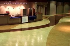 Lobby, Color Concrete Floors Elite Crete of Michigan Rochester Hills, MI