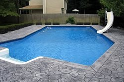 Concrete Pool Decks DaPonte Construction Holtsville, NY