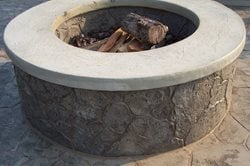Outdoor Fire Pits Custom DesignCrete, Inc Crescent, PA