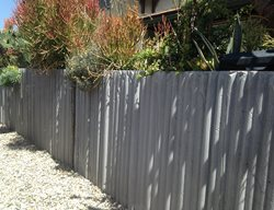 Concrete Fence Architectural Details Culloton Design Los Angeles, CA