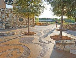 Mission Concepcion Concrete, San Antonio Park Artistic Concrete Sundek of San Antonio San Antonio, TX