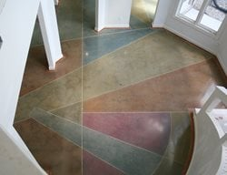 Polished Concrete Floor Artistic Concrete Artistic Surfaces Inc Indianapolis, IN