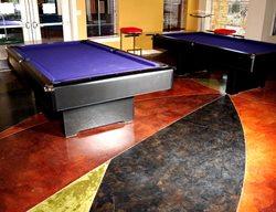 Stained Interior Floor Artistic Concrete Pacific Decorative Concrete Inc Sacramento, CA
