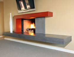 Two Tone, New Age Artistic Concrete Pourfolio Custom Concrete San Diego, CA