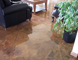 Polished, Marble Brown Floors General Concrete Finishers Moose Jaw, SK
