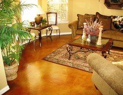 Brown Floors SolCrete Denton, TX
