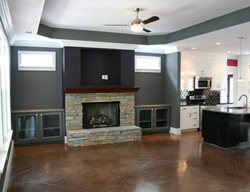 Brown Floors Wright Homes McCalla, Alabama