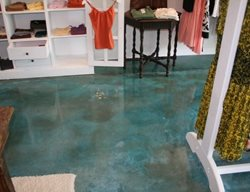Aqua, Store Commercial Floors Progressive Concrete Coatings Wilmington, NC