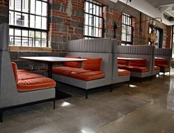 Polished Floor, Restaurant, Booths Commercial Floors The Art of Concrete LLC Denver, CO