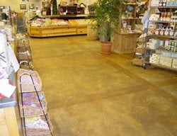 Slate, Warm Commercial Floors QC Construction Products Madera, CA