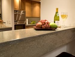 Concrete Bar Buffet Concrete Countertops Reaching Quiet Design Charlotte, NC