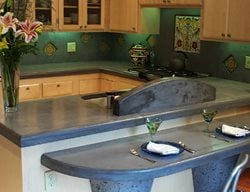 Concrete Bar Counter Concrete Countertops Concrete Interiors Martinez, CA