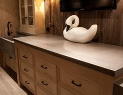 Concrete Buffet Counter Concrete Countertops JM Lifestyles Randolph, NJ