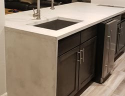 Concrete, Concrete Countertop, Countertop, Kitchen Design, Kitchen Makeover, Decorative Concrete  Concrete Countertops Surface Concepts LLC Brighton, CO