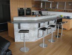 Gfrc Countertop, Gfrc Bar Concrete Countertops Absolute ConcreteWorks Port Townsend, WA