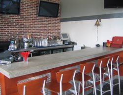 Grey, Bar Concrete Countertops Hart Concrete Design Costa Mesa, CA