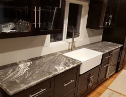 Marble-Look Countertop Concrete Countertops Colorwize Concrete Torrance, CA
