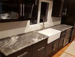 Marble-Look Countertop Concrete Countertops Colorwize Concrete Torrance, CA