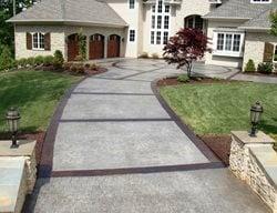 Award Winning Stamped Concrete Driveway Concrete Driveways Greystone Masonry Inc Stafford, VA