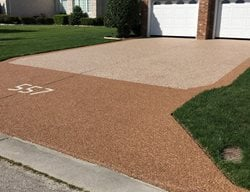 Concrete, Concrete Driveway, Driveway, Decorative Concrete Concrete Driveways Distinguished Designs LLC Chesapeake, VA