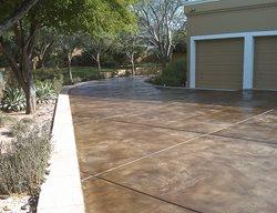 Concrete Driveway, Concrete, Driveway, Home Improvement Concrete Driveways Acid Stain Flooring Glendale, AZ