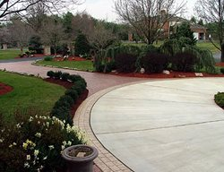 Entrance, Driveway Concrete Driveways Deco-Systems of MD Inc Germantown, MD