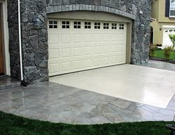 Patterned Driveway Concrete Driveways Richardson's Concrete Effects Carmichael, CA