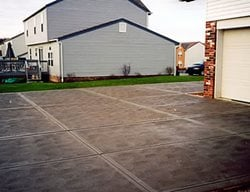 Swirl, Joints Concrete Driveways J.J.I. Concrete Construction Pittsburgh, PA