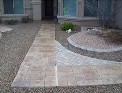 Concrete Entryways Decorkrete Inc. Tucson, AZ