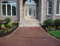 Entrance, Path, Walkway Concrete Entryways Concrete Mystique Engraving Antioch, TN