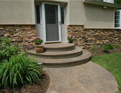 Concrete Entryways Liquid Stone Concrete Designs LLC Warminster, PA