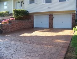 Natural Color, Driveway Concrete Entryways Concrete Impressions Inc. Bay Shore, NY