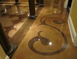 Concrete Overlay, Engraved Concrete Floor Overlay Concrete Mystique Engraving Nashville, TN