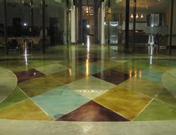 Stained Concrete Floor, Stained Concrete, Concrete Staining Concrete Floor Overlay Demmert & Associates Glendale, CA
