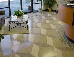 3-D Floor, Concrete 3-D, Dimensional Concrete Concrete Floors Summit Decorative Concrete Golden, CO