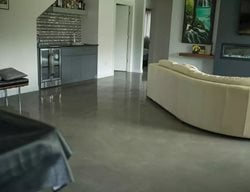 Concrete Floor, Decorative Concrete, Concrete, Living Room Floor Concrete Floors Dapper Surfaces LLC Rochester, MN