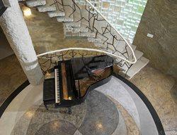 Entryway, Circles Concrete Floors Everlast Concrete, Inc Steger, IL