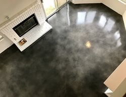 Gray Floor, Stained Concrete Floor Concrete Floors KB Concrete Staining Norco, CA