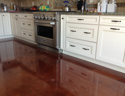 Kitchen Floor Coating Concrete Floors Infinity Concrete Coatings Newport Beach, CA